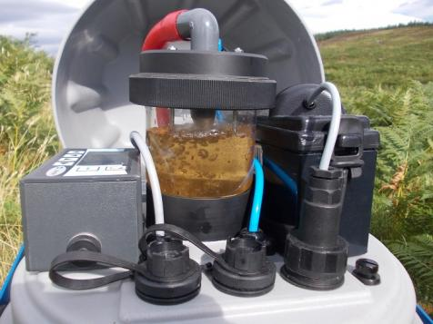 Autosampler for water by Roxane Andersen
