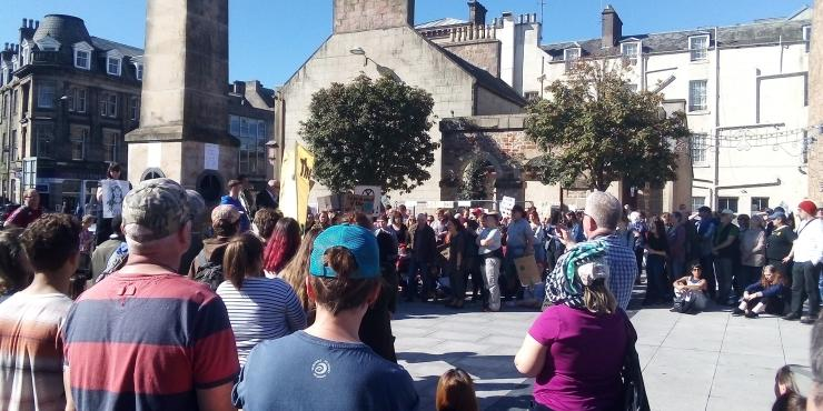 Inverness climate strike 1